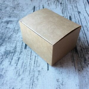 60x Kraft Boxes Birthday Party Wedding Favour Bomboniere Event Cookie Gift Boxes