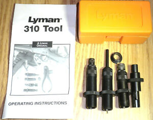 Lyman 310 Tool 4-Die Set 45 Colt (Long Colt) # 7020132  FREE PRIORITY SHIPPING !