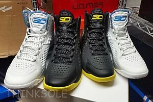 UNDER ARMOUR STEPHEN CURRY ONE 1 CHAMPIONSHIP PACK SIZE 10 WARRIORS MVP