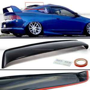 Fit Acura RSX DC5 Type S ABS Plastic Black Rear Roof Spoiler Window Visor Wing $43.99