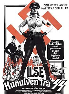 ILSA SHE WOLF OF THE SS Movie Poster RARE Exploitation Grindhouse