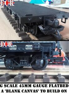 new g scale 45mm gauge flatbed self build on