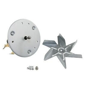 Cooker Fan Oven Motor & Cooling Air Blade For Jackson Homark General Electric
