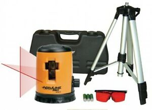Johnson Level and Tool Self-Leveling Cross Line Laser Level Kit Construction