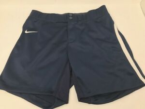 Women's Nike Dri-Fit Turntwo Fastpitch Custom Softball Short NavyWhite New
