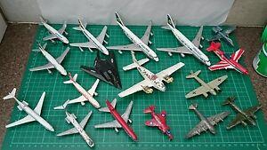 retro diecast aircraft bundle dinky matchbox