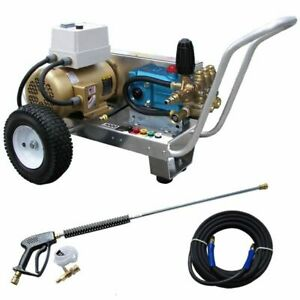 Pressure-Pro Professional Eagle 3000 PSI (Electric - Cold Water) Belt-Drive A...