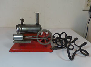 empire electric toy live steam engine model no 46