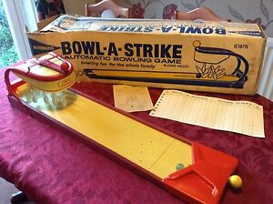 1960s chad valley bowl a strike automatic good