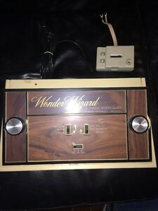 rare 1977 wonder wizard tv sports games console