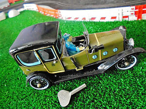 tin wind up vehicle repro boxed