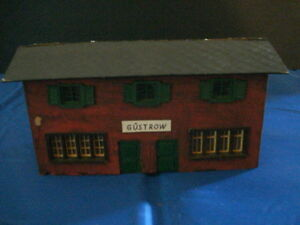 tt scale hand made station aughagen temos for