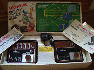 richochet 1976 complete video game system tested