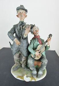 giuseppe cappe figure the buskers c 1961