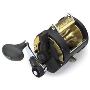 New Shimano TLD-30iiA Lever Drag Conventional Saltwater Fishing Reel 2 Speed 30A