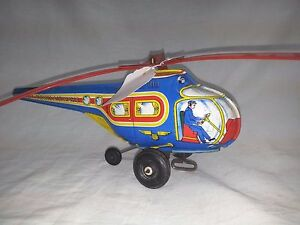 wind up helicopter by j co usa