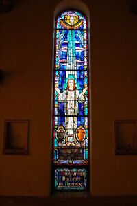 + Ornate Church Stained Glass Window + #3 of 10 + + SHIPPING AVAILABLE +