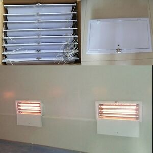 8 Sets x 3KW SprayBaking booth Infrared Paint Curing Lamp Heating Lights Heater
