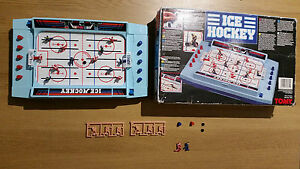 vintage rare collectable tomy hockey game