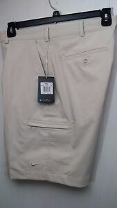 Nike Golf Flat Front Men's Dri-Fit Cargo Shorts Style 401501-072 MSRP $65