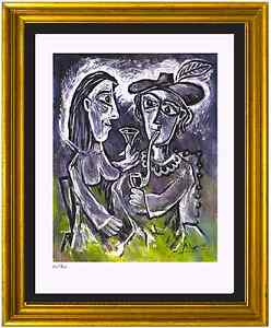 Pablo Picasso Signed amp; Hand Numbered Ltd Ed quot;The Couplequot; Litho Print unframed $89.99
