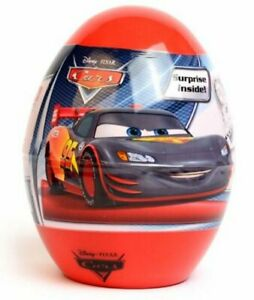 PIXAR Cars surprise egg with toy and candy-FREE SHIPPING FROM USA-