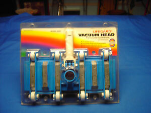 LIFE GUARD  vacuum head for ConcreteGunite pools With 6 LEAD WEIGHTS Model 200