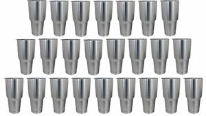 Stainless Steel Tumblers Case of 24 Powder Coating Dipping Engraving Etching NEW