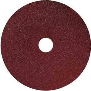 Sait 50026 5x 5quot; x 7 8quot; 120 Grit Resin Fiber Disc for Sanders and Grinders New