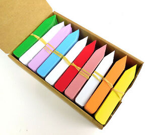 Plastic Plant Stakes Tags Labels Bright Rainbow Colors Made in USA  4