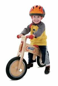 New Sporting Goods Bicycle Kids OutDoor Diggin Active Skuut Wooden Balance Bike