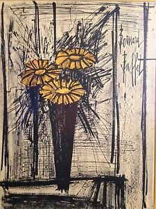 Flowers By Bernard Buffet $300.00