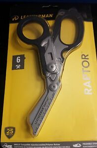 LEATHERMAN  RAPTOR MULTI-TOOL 831713 6 IN 1 EMT MEDICAL SHEARS