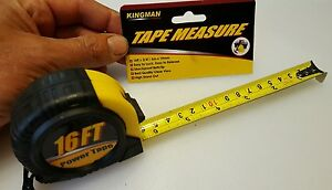 Measuring tape 16 ft x 3 4 inches and metric $7.59