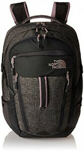 Women's The North Face Surge Backpack Asphalt Grey HeatherQuail Grey Size One