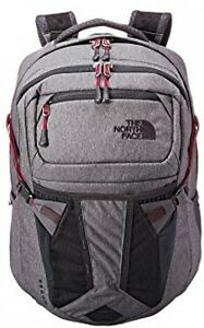 The North Face Womens Recon Backpack (Zinc Grey HeatherDramatic Plum)
