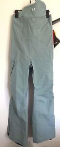 NWT Womens UA Under Armour GTX Chugach Recco Pant Pants Bib Gore S Small sx330
