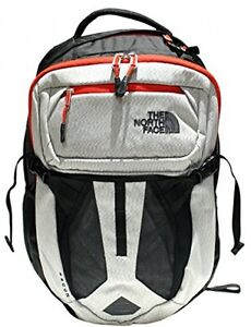 The North Face Recon Backpack Black  Fiery Red