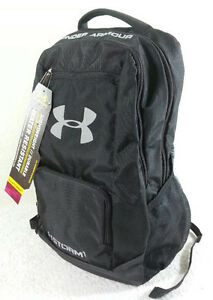 NWT UNDER ARMOUR WOMEN MEN UA BLACK STORM STARDOM 1700 SCHOOL GYM BACKPACK BAG
