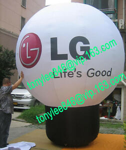 Advertising Inflatable LG balloon with UL blower 12fton outdoor event display