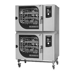 Blodgett BLCM-62-62E Double Stack Electric Boilerless Combination-OvenSteamer