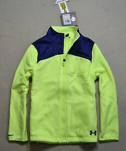 NWT GIRLS YOUTH UNDER ARMOUR STORM FULL ZIP MAGZIP HOODIE JACKET COAT YTH M L XL