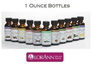 LorAnn 1 oz Super Strength Flavoring Hard Candy Oils Extracts Flavor