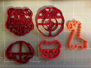 Zoo Themed Cookie Cutters