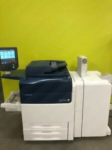 Xerox Versant 80 Press Color Commercial Laser Printer Finisher Fiery 80 PPM