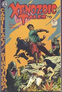 Xenozoic Tales #13 in NM from Mark Schultz and Kitchen Sink Press