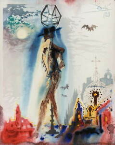 Salvador Dali Don Jose Poster Reproduction Paintings Giclee Canvas Print $18.49