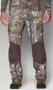 NEW Under Armour ColdGear Infrared Storm 2 Realtree Pants Camo L 1262327 946