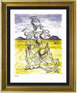 Salvador Dali Signed Hand Numbrd Ltd Ed quot;Mother amp; Child quot; Litho Print unframed $79.99