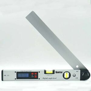 Digital LCD Protractor Electronic Angle Finder Meter 225Degree Dual Spirit Level $28.05